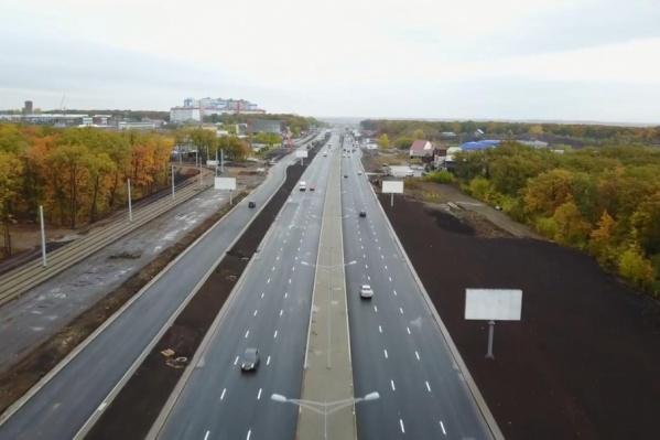 Реконструкцию дороги завершат в декабре