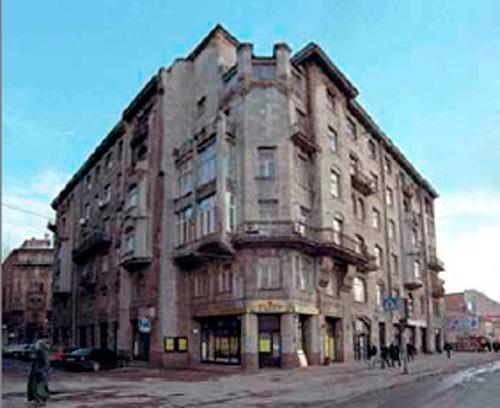 Дом А. Н. Перцова в г. Санкт-Петербург