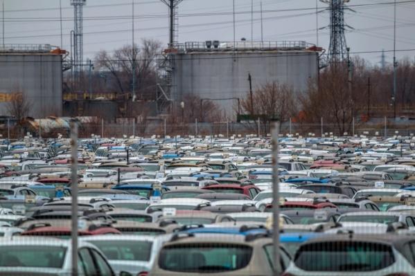 Автомобилисты платили за места на парковке