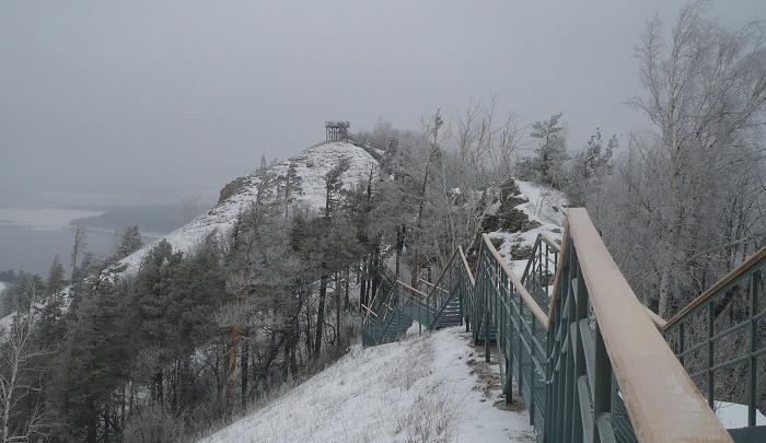На горе Стрельной в Самарской области появятся две смотровые площадки и дорога