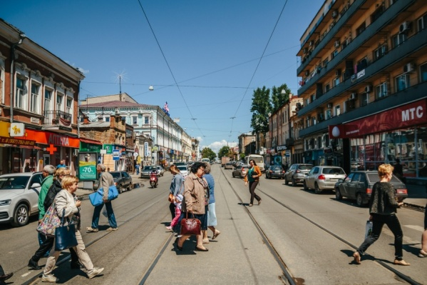 В списке ограничений улица Фрунзе
