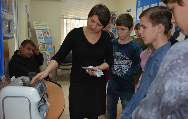 Банк «Кубань Кредит» провел день открытых дверей для воспитанников детского дома