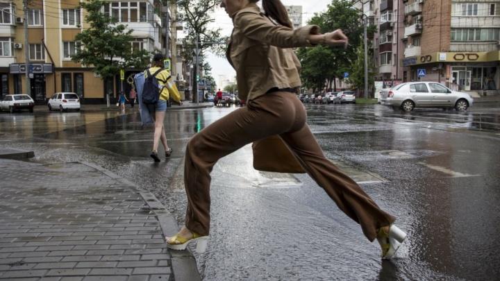 В Ростове на следующей неделе обещают дожди