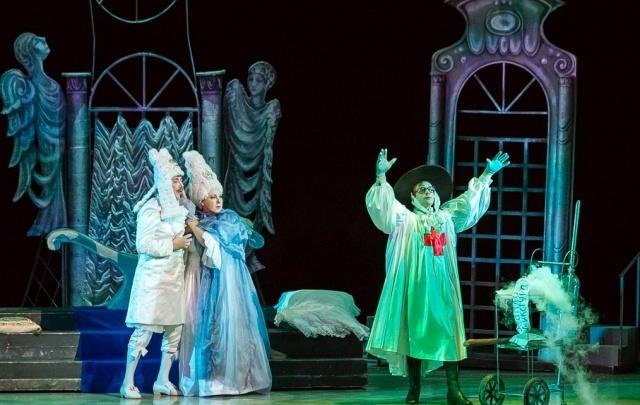 Сбербанк и Пермский театр оперы и балета провели совместную Благотворительную елку
