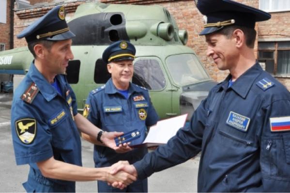 Назначение Андрея Базалия на должность начальника Южного АСЦ МЧС России