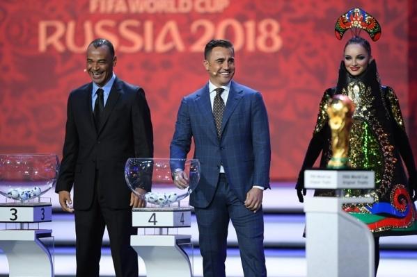 Судьбы мундиаля вершили легендарные футболисты мира