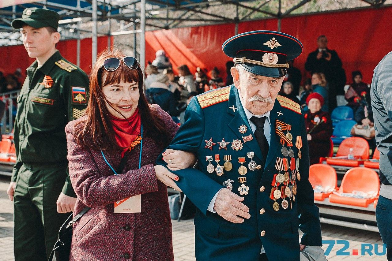 В Тюменской области живет около 12 тысяч ветеранов, но непосредственных участников войны среди них немного - чуть более 500 человек