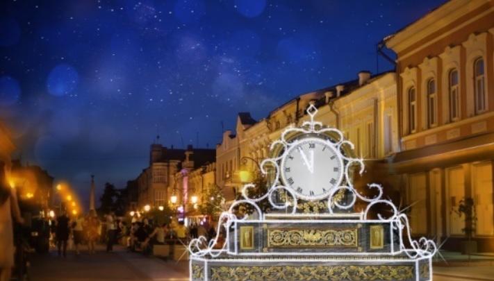 В Самаре установят гигантские часы и светящуюся избушку