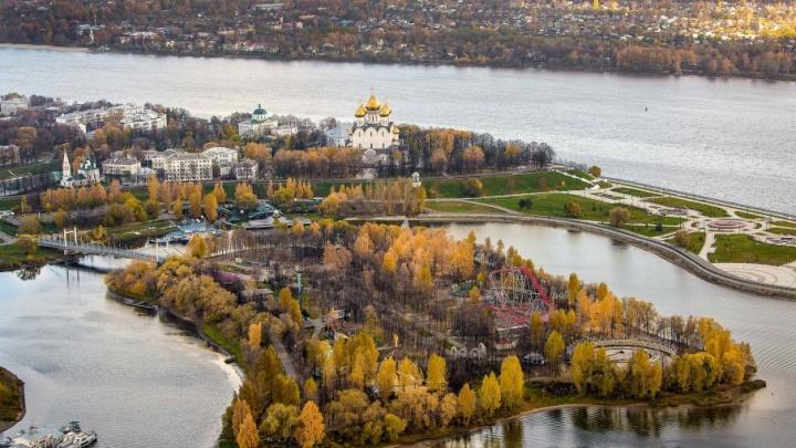 Золотой Ярославль: пять шикарных видов осеннего города