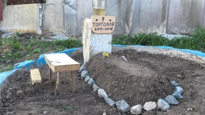 По сети гуляет фото «могилы торговли» в Перми. Кто это сделал и зачем?