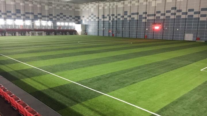Футбольный манеж «Пермь Великая» заработает через полтора месяца