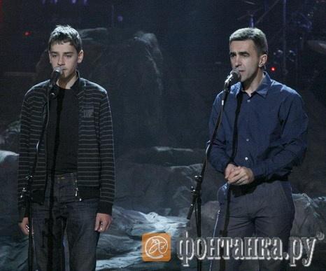 Валя Егоров и Вячеслав Бутусов