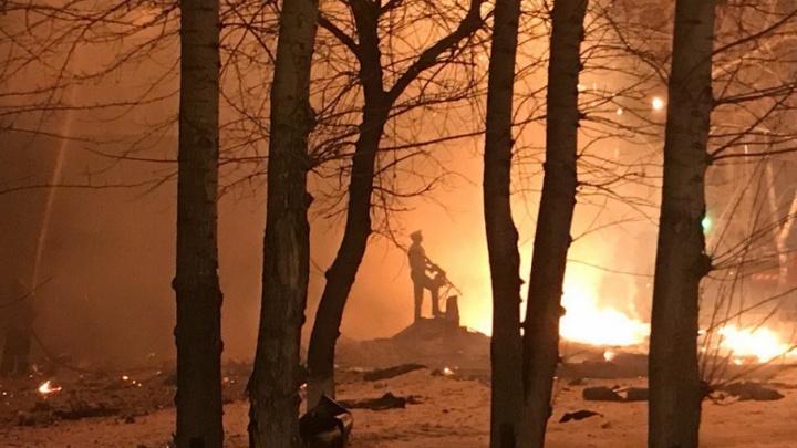 Во время пожара на Олимпийской, где вспыхнула многоэтажка, пострадал один человек