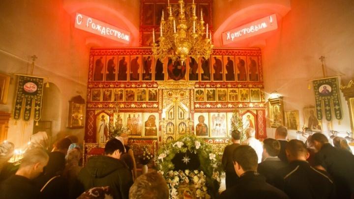 Ёлки в храме и селёдка под шубой: волгоградские монахи готовятся к Рождеству