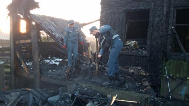Отца детей, погибших на пожаре под Челябинском, перевели из реанимации в стационар