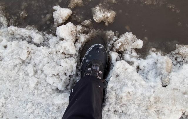 Рабочая неделя в Поморье начнется с мокрого снега и дождя