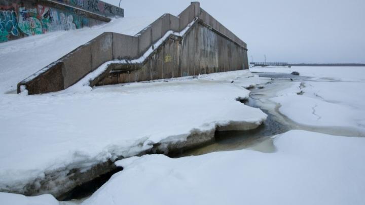 В Архангельской области лед встанет на реках с запозданием