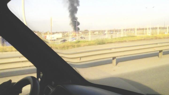 Направлены дополнительные силы: сады под Челябинском охватил огонь