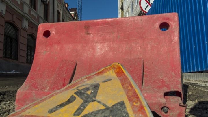 Движение транспорта по Газетному ограничат до конца года