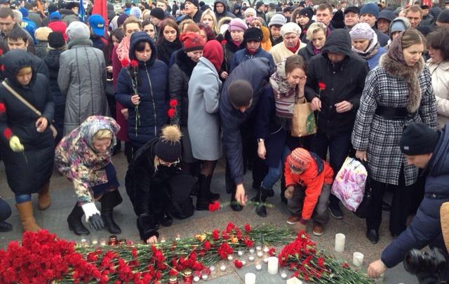 Тюменцы выступили против террора: трансляция с митинга на Цветном бульваре