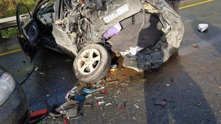 В МСЧ № 11 в реанимацию перевели женщину, пострадавшую в аварии с грузовиком на Красавинском мосту