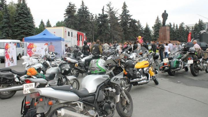 Южноуральские байкеры присоединятся ко Всероссийской субботе донора