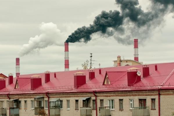 Дым был виден из разных частей города