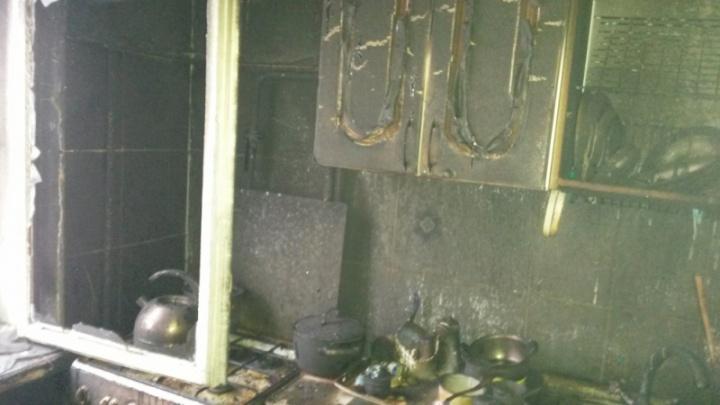 Ночной пожар в Ярославле: есть пострадавшие