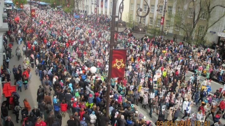 «Бессмертный полк»: 75 тысяч тюменцев «оживили» победителей