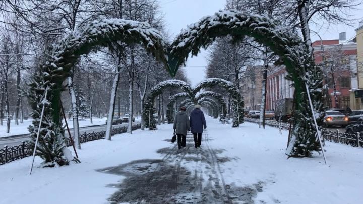 Ярославцев ждут морозные выходные