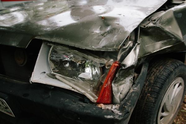 Спасти водителя не удалось