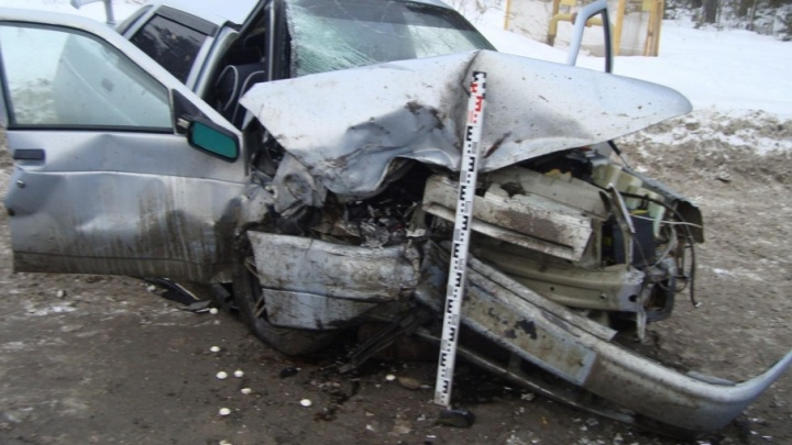 В Перми при столкновении двух легковушек погиб водитель