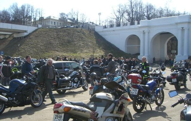 Сотни байкеров из столицы приедут в Ярославль