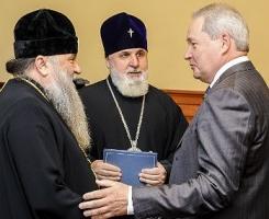 Губернатор встретился с митрополитами Варсонофием и Мефодием
