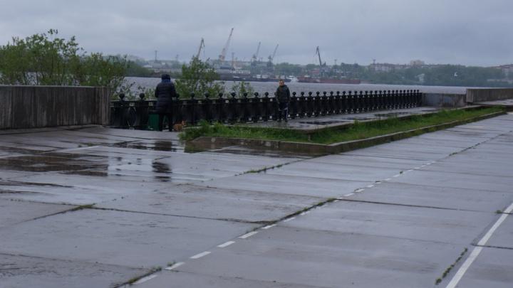 Поморье накрыли сильные дожди