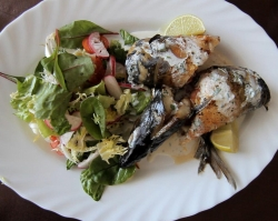 Wow-повар: рулет из макрели с салатом микс