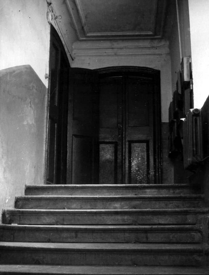 Лестница входа восточного фасада.