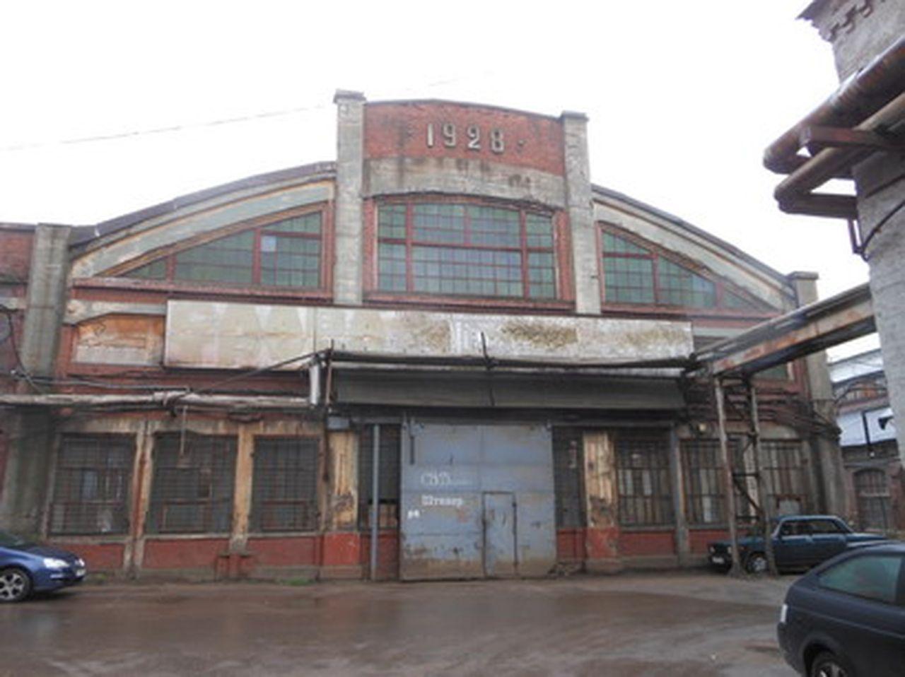 Кузнечный  цех б. завода «Новый Лесснер»
