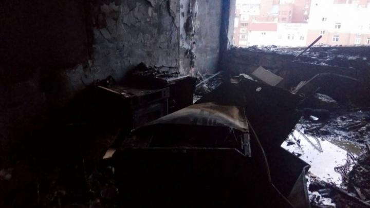 «От квартиры остались только стены»: видео из дома на Садовой, где взорвался газ