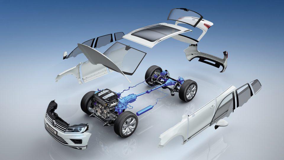 Volkswagen Touareg Wollfsburg Edition имеет пневматическую подвеску