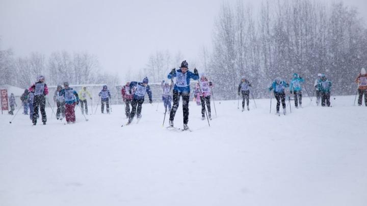 Архангельский филиал Россельхозбанка принял участие в соревнованиях по лыжным гонкам