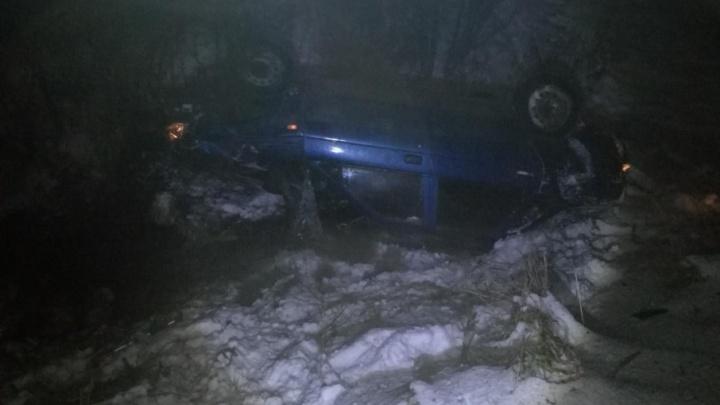 В Холмогорском районе водитель на «десятке» повредил позвоночник в ДТП