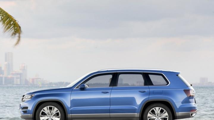 Volkswagen готовит для России огромный кроссовер