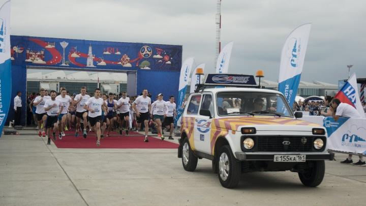Ливень не помешал участникам забега Platov runway