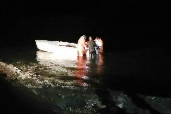 Тела утонувших стражей порядка до сих пор не найдены