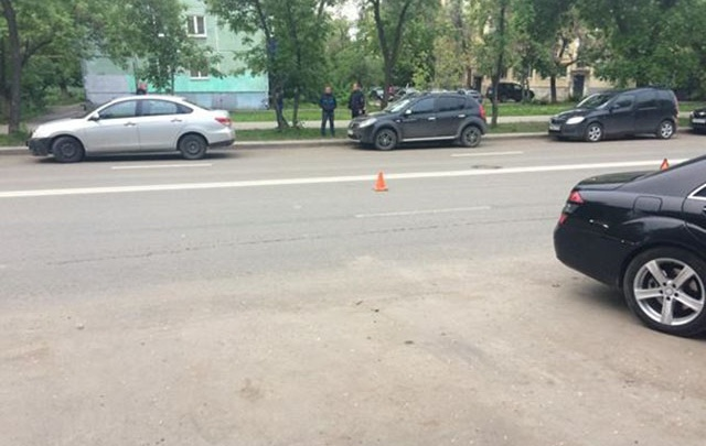 В Самаре водитель за рулем Vortex Tingo сбил восьмилетнего мальчика, который перебегал дорогу