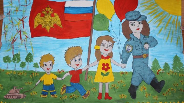 Трое ребят из Самарской области поборются за победу в конкурсе рисунков «Моя Росгвардия»