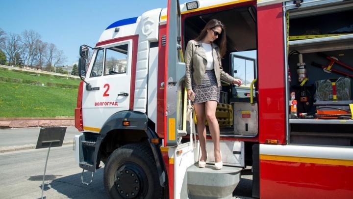 И он решил стать спасателем: в Волгограде прошли пробег и выставка пожарной техники