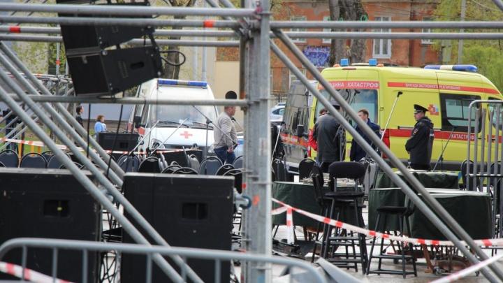 Следователи возбудили уголовное дело после происшествия у ДК им. Солдатова в Перми