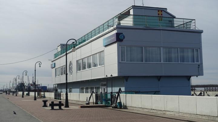 Здание дебаркадера на Набережной Северной Двины выставили на торги